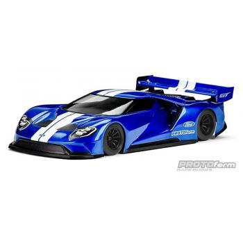 PROTOform Ford GT Karo klar 200mm Pan-Car