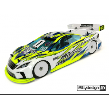 BITTYDESIGN JP8 190MM TC LIGHTWEIGHT BODY CLEAR