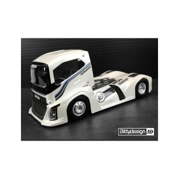Bittydesign Iron 1/10 Truck Body Clear
