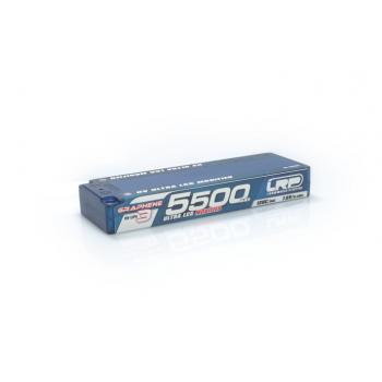 HV ULTRA LCG MODIFIED GRAPHENE-3 5500MAH HARDCASE AKKU - 7.6V LIPO - 120C/60C