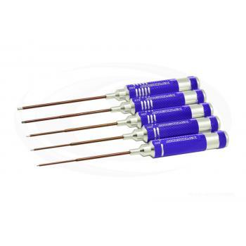 ARROWMAX Innensechskantschlüssel-Set .035, .050 Zoll x 60 mm und .063, .078, .093 Zoll x 120mm (5Stck.)