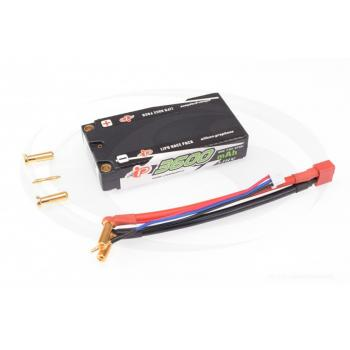 Intellect Lipo 7,6V 3600mAh 50C Shorty Low Profile LiHV 155g/5mm