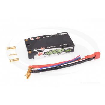 Intellect Lipo 7,6V 4200mAh 50C Shorty Low Profile LiHV 155g/5mm