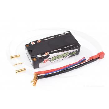 Intellect Lipo 7,6V 5000mAh 120C Shorty LiHV - 205g/5mm