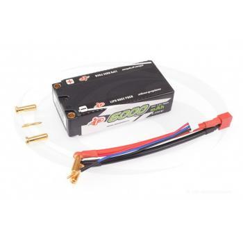 Intellect Lipo 7,6V 6000mAh 120C Shorty LiHV - 215g/5mm