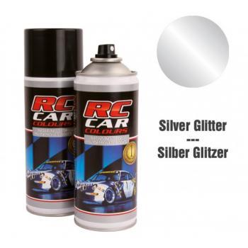 Lexan Farbe Silber Glitter Nr 924 150ml