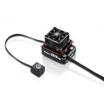 Hobbywing Xerun XR10 Pro G2 Brushless Regler Rot 160A, 2-3s LiPo