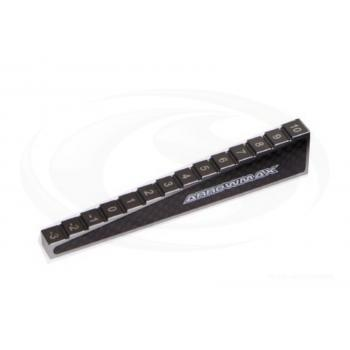 ARROWMAX Chassis Droop Gauge -3 bis 10mm - 1/10 Cars (10mm)