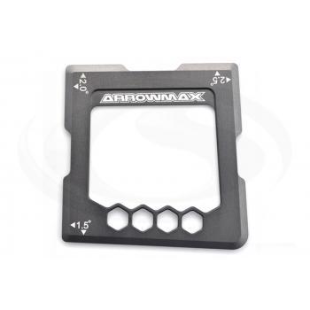 ARROWMAX Graphit Quick-Sturzlehre für Tourenwagen 1,5, 2,0 und 2,5 Grad