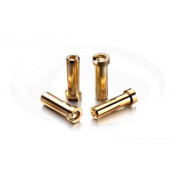 G5 Goldkontakt Stecker 5mm -Low Profile- 160A- (4)