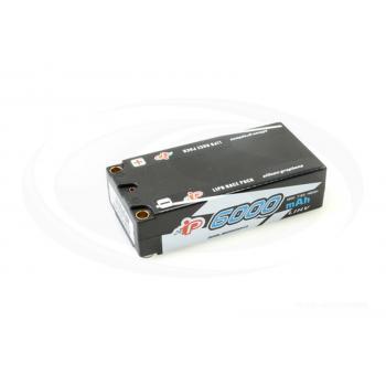 Intellect Lipo 7,6V 6000mAh 120C Shorty LiHV -IFMAR,EFRA,ROAR,DMC legal- 219g/5mm