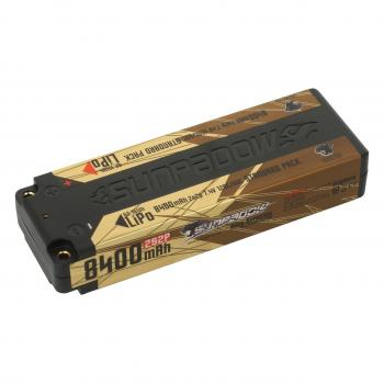 Sunpadow LiPo Akku 8400mAh 120C/60C 2s Competition 4mm Buchse