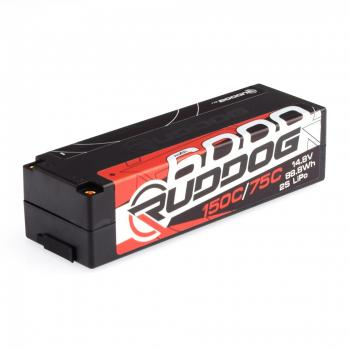 RUDDOG Racing 6000mAh 150C/75C 14.8V LCG 1/8 Pack LiPo Battery