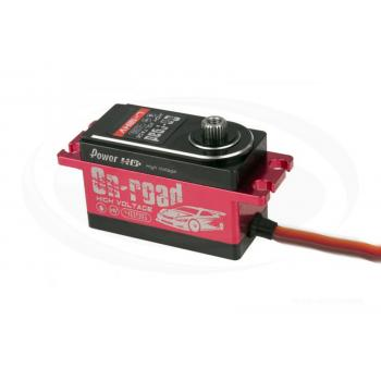 Power-HD L-12HV Digital Servo (12,0kg/0,06/7,4-Lipo) und (9,0kg/0,07s/6V) Vollalu -Low Profile-