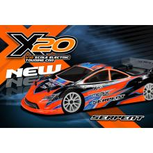 ZOOM +STOP SLIDESHOW  Serpent Medius X20 1/10 4WD MID Carbon EP Touring Car