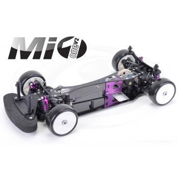 Schumacher 1:10 4WD Tourenwagen Mi1 V2, Baukasten