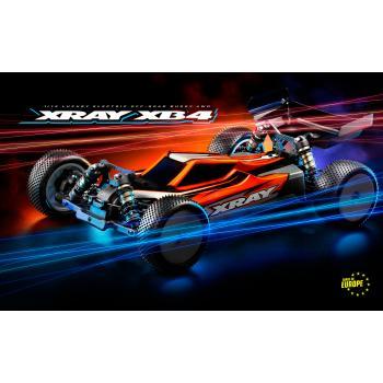XRAY XB4C'21 - 4WD 1/10 ELECTRIC OFF-ROAD CAR - CARPET EDITION