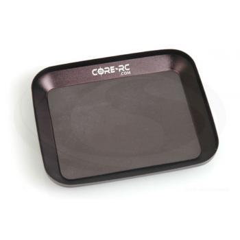 CORE Alu-Kleinteile-Schale mit Magnet -schwarz-
