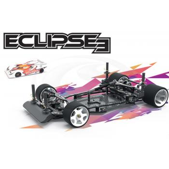 Schumacher 1:12 Pan Car Eclipse3, Carbon, Baukasten