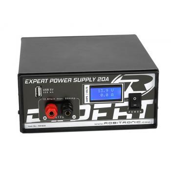 Expert Schaltnetzteil 20A mit LCD & USB