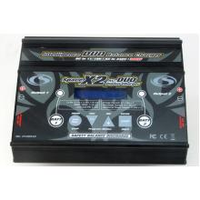 CS-Electronic Space X2 Professional DUO Ladegerät 12V/240V -2 x 10A/200W- LiHV-