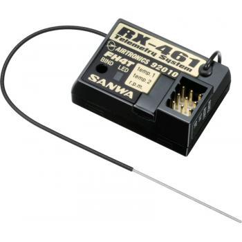 RX-461 Telemetrie system Empfänger für MT-4 SANWA SURFACE CH4 2.4GHz Telemetrie SYSTEM für FH4