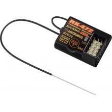 RX-472 Telemetrie / SSL Empfänger SANWA SURFACE CH4 2.4GHz FH4/FH3