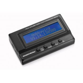 Hobbywing LCD Programmierbox für Xerun, Ezrun und Platinum