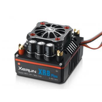 Hobbywing Xerun XR8 Plus Brushless Regler 150A, 2-6s LiPo, BEC 6A