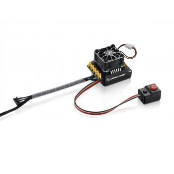 Hobbywing Xerun XR10 WP Pro Ext. Schalter BL Regler Schw. 160A, 2-3s LiPo