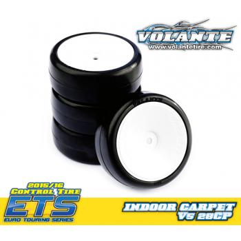 Volante V5 1/10 TC 28CP Indoor Carpet Rubber Tire Preglued